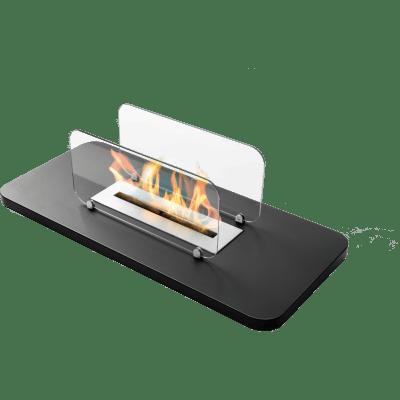 Caminetto a bioetanolo Rialto 2.2 L nero