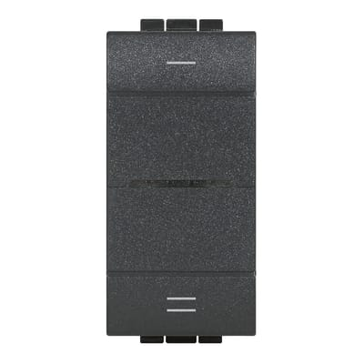 Interruttore Livinglight smart BTICINO nero