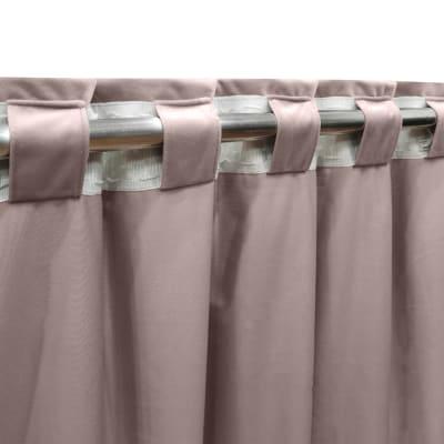 Tenda INSPIRE Tony beige fettuccia e passanti 140 x 280 cm