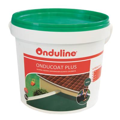 Membrana liquida ONDULINE Oducoat Plus verde 5 kg