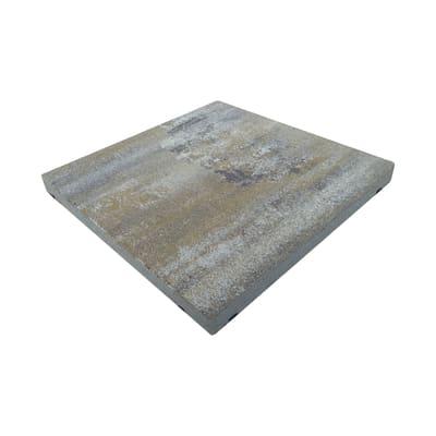 Lastra mega mix luserna pietra ricostituita 50 x 50 cm