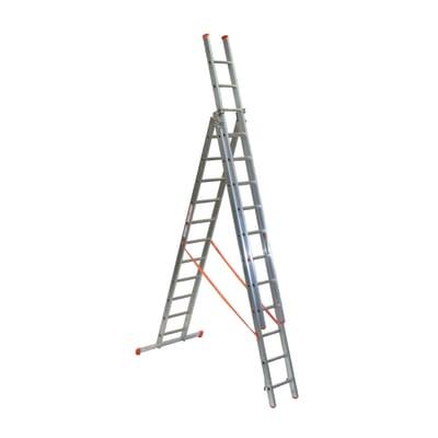 Scala a sfilo FACAL Genia in alluminio per lavori fino a 9.2 m