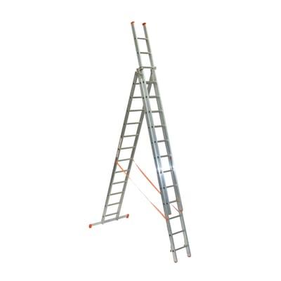 Scala a sfilo FACAL Genia in alluminio per lavori fino a 9.8 m