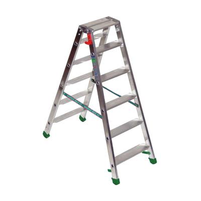 Scala doppia FACAL Dupla in alluminio per lavori fino a 2.55 m