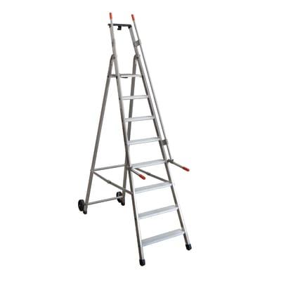 Scala doppia FACAL Mayorà in alluminio per lavori fino a 3.63 m