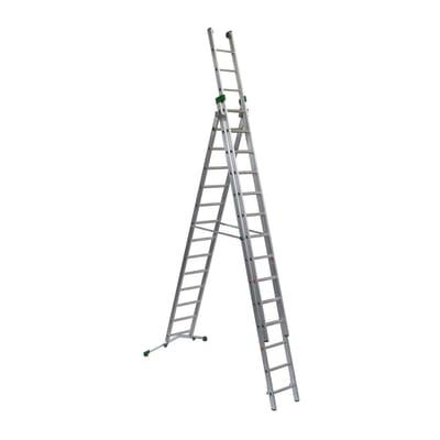Scala a sfilo FACAL Prima in alluminio per lavori fino a 11.7 m