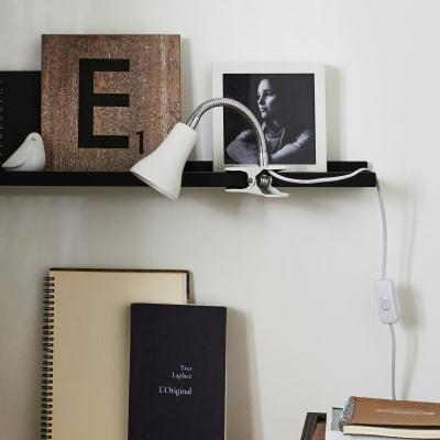 Lampada da scrivania Moderno Salta bianco , in metallo, INSPIRE