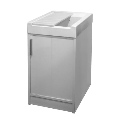 Mobile lavanderia Up bianco L 44.2 x P 52.5 x H 84 cm