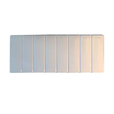 Asse per lavaggio Tablette New plastica 20 x 1.8 x 49 cm bianco