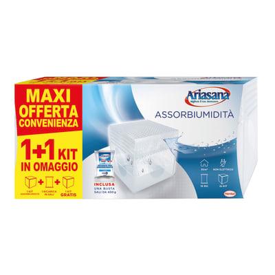 Kit assorbiumidità HENKEL ARIASANA Kit Mini 1+1 Inodore 450g neutro 450
