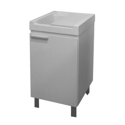 Mobile lavanderia Mavi bianco L 44.2 x P 52.5 x H 84 cm