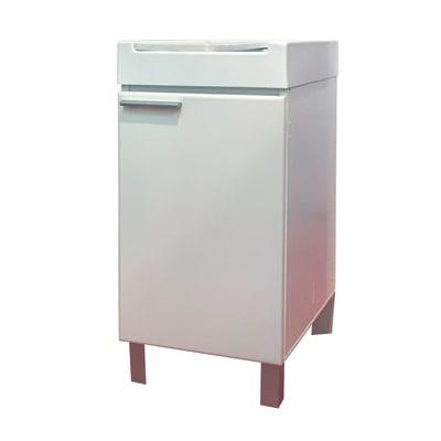 Mobile lavanderia Doni bianco L 44.2 x P 52.5 x H 84 cm