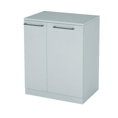 Mobile lavanderia Portalavatrice bianco rivestito L 75 x P 53 x H 93 cm