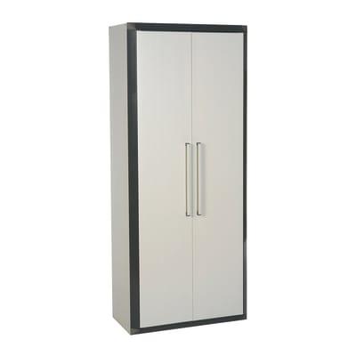 Armadietto alto Thetris Eco L 70.5 x P 40 x H 169 cm grigio chiaro e grigio antracite