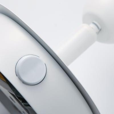 Base per faretto componibile Roma G9 in metallo bianco IP20 INSPIRE
