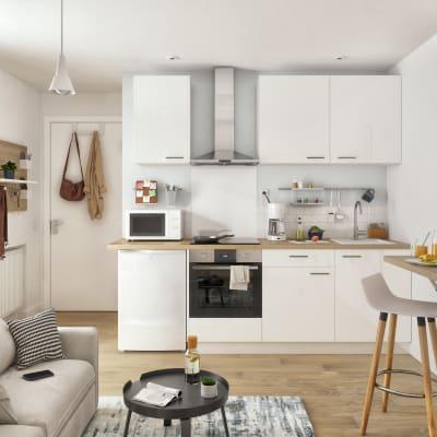 Cucina in kit DELINIA ID bianco L 270 cm. Prezzo online ...
