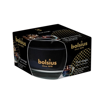 Candela profumata BOLSIUS essenza cannella speziata H 6.6 cm