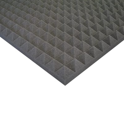 Pannello fonoassorbente piramidale 1 x 1 m, Sp 50 mm, 1 mq
