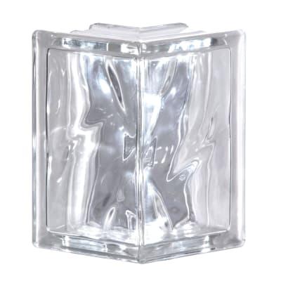 Vetromattone trasparente trasparente H 19 x L 19 x Sp 8 cm 4 pezzi