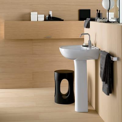 Colonna per lavabo colibri H 70 cm in ceramica bianco