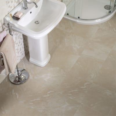 Colonna per lavabo roncal H 72 cm in ceramica bianco