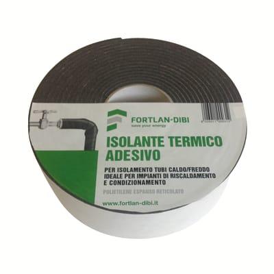 Guaina isolante adesiva per tubazioni in polietilene diam. 3 mm,