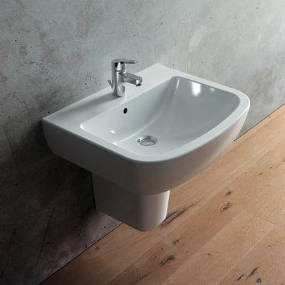 Ceramica Dolomite Catalogo Prezzi.Lavabo Suite L 60 X P 49 5 Cm In Ceramica Bianco Prezzi E