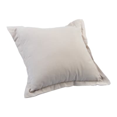 Cuscino Greta tortora 42x42 cm