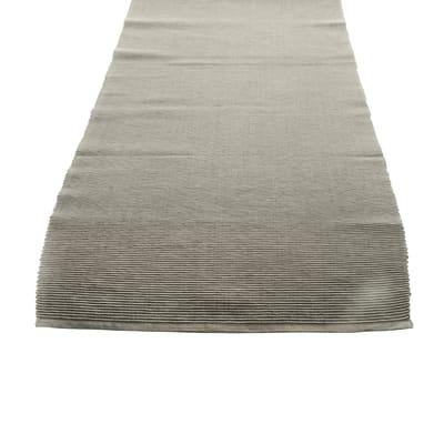 Runner da tavolo Greta tortora 45x130 cm