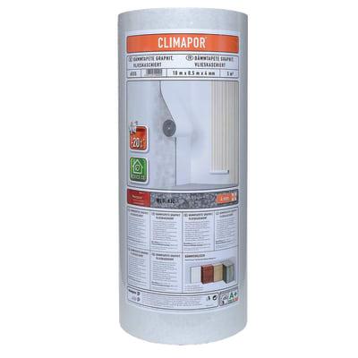Rotolo in polistirene espanso Climapor 0.5 x 5 m Sp 4 mm