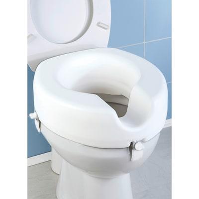 Rialzo per seduta wc WENKO in plastica H 17 cm