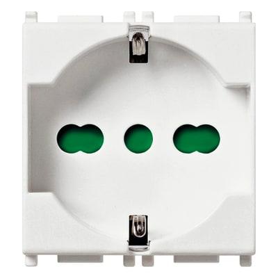 Presa universale VIMAR Plana antibatterico 16 A bianco