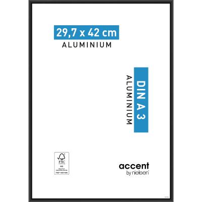 Cornice Accent nero per foto da 29.7x42 cm