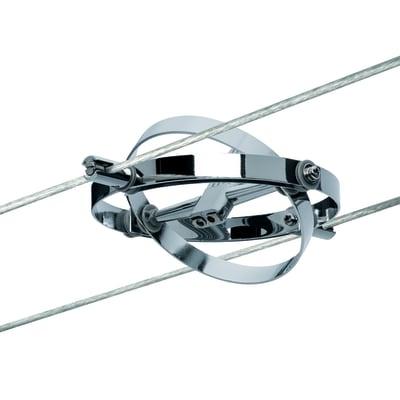 Faretto Cardan cromo, in metallo, GU5.3 IP20 PAULMANN