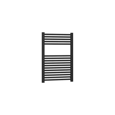 Termoarredo nero opaco interasse 45 cm x H 77 cm