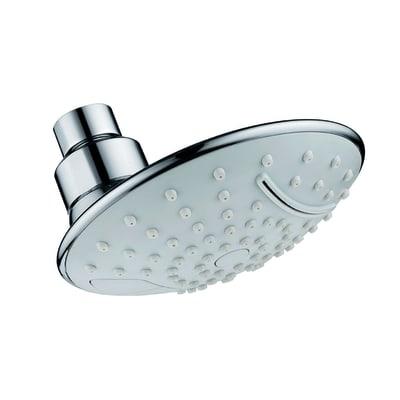 Soffione doccia Efesto Ø 11.7 cm in abs cromo cromato