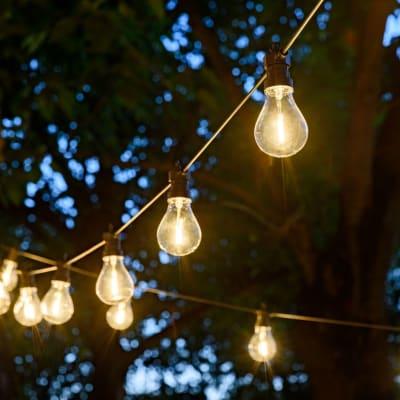 Ghirlanda Xmas 10 lampadine IP44
