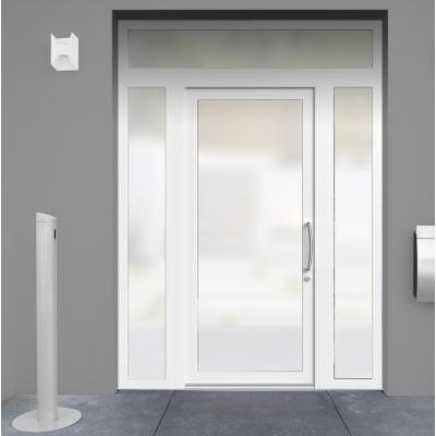 Portoncino d'ingresso Condo21 bianco L 170 x H 250 cm sinistra