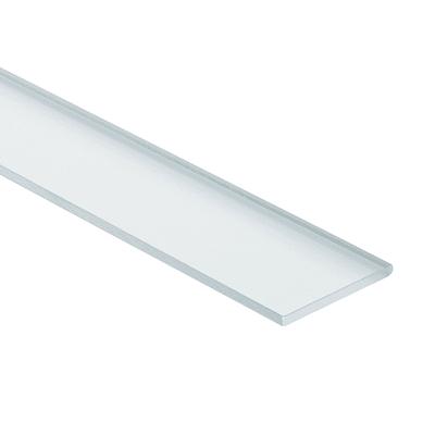 Piattina in pmma trasparente 40 x 1000 mm,