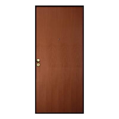 Porta blindata Good noce L 90 x H 210 cm sinistra