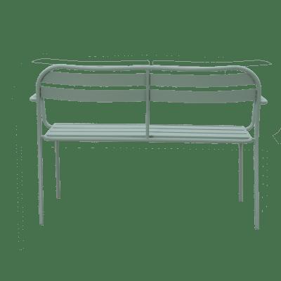 Panche Da Giardino Leroy Merlin.Panca Da Giardino Senza Cuscino In Acciaio Contemporary Colore Verde Prezzo Online Leroy Merlin