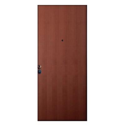 Porta blindata Padlock noce L 80 x H 210 cm sinistra