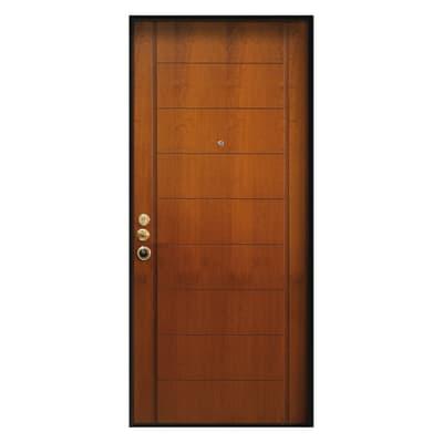 Porta Blindata Best Noce L 80 X H 210 Cm Destra Prezzi E
