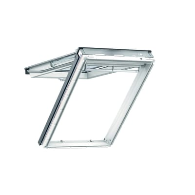 Finestra da tetto (faccia inclinata) VELUX GPU MK08 0070 manuale L 78 x H 140 cm bianco