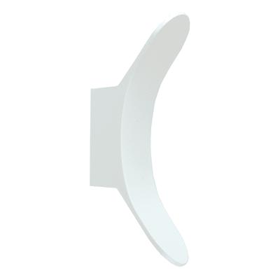Applique Wanda bianco LED integrato in alluminio, bianco, 8W 600LM IP54