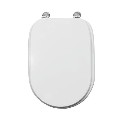 Copriwater quadrato Tesi bianco