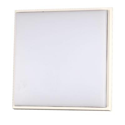 Plafoniera Desdy LED integrato in alluminio, grigio, 30W 2800LM IP54