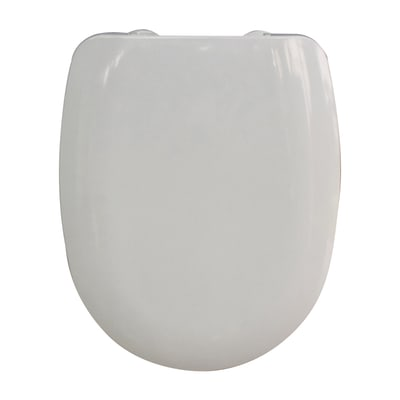 Copriwater ovale Aqua bianco
