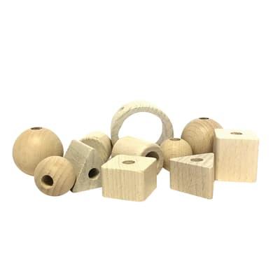 Perline in legno bianco 11 pezzi prezzi e offerte online for Perline legno bianche leroy merlin