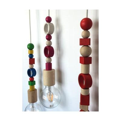 Perline in legno blu 11 pezzi prezzi e offerte online for Perline legno leroy merlin